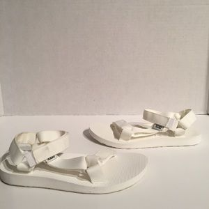 Teva Origunal Universal Bright White Sandal
